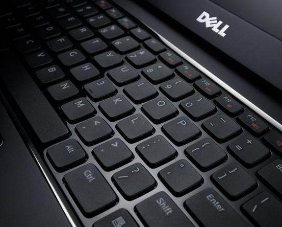 The Dell Vostro V131's chicklet keyboard comes optionally backlit