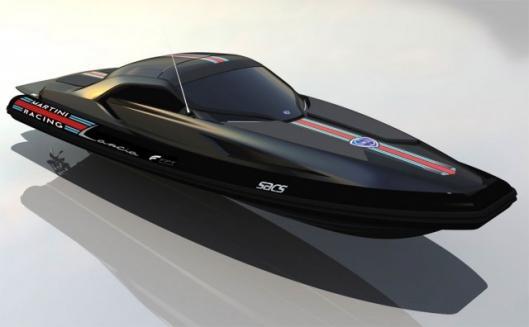 The Lancia di Lancia ... 1120hp of boating pleasure