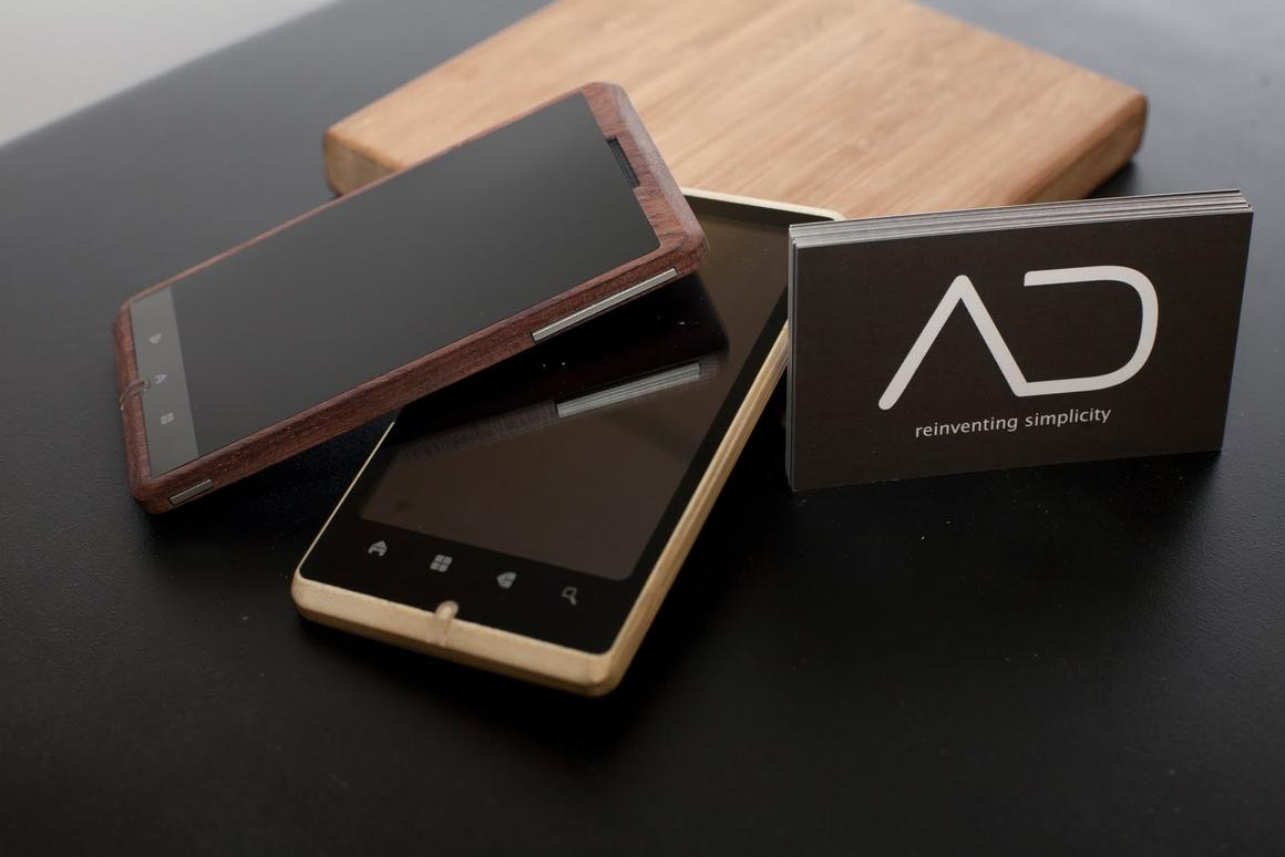 The different buttons on the prototypes' fronts suggest that, at the stage these were created at least, a final UI had not been settled upon (Photo: ADzero)