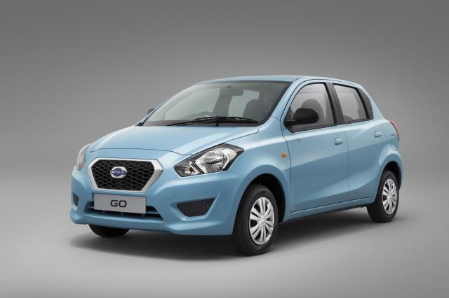 The recently-unveiled Datsun GO