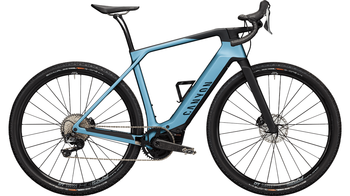 Canyon's Grail:ON is a lightweight, versatile gravel ebike
