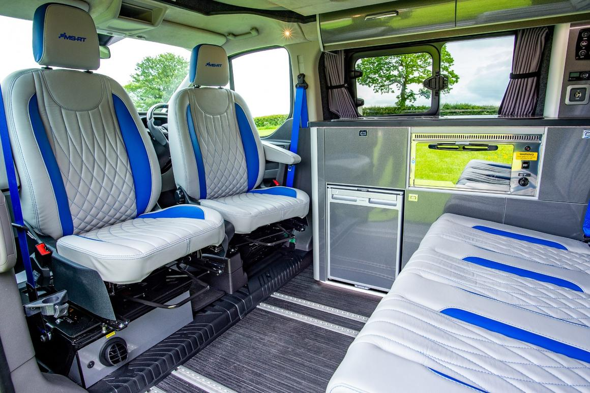 Ford Transit Custom campervan conversion combines sporty