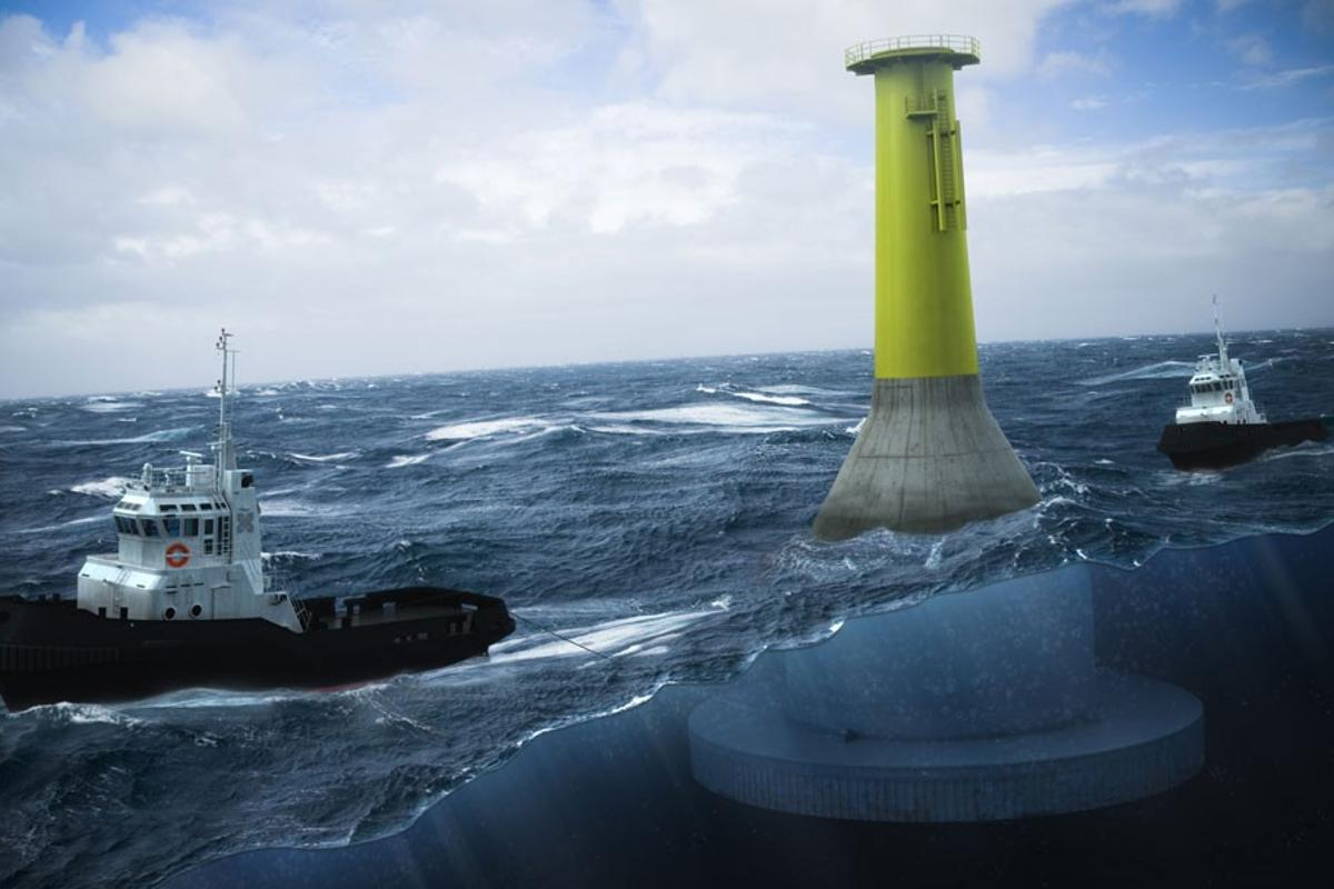 Seatower: bringing down the cost of offshore wind farming