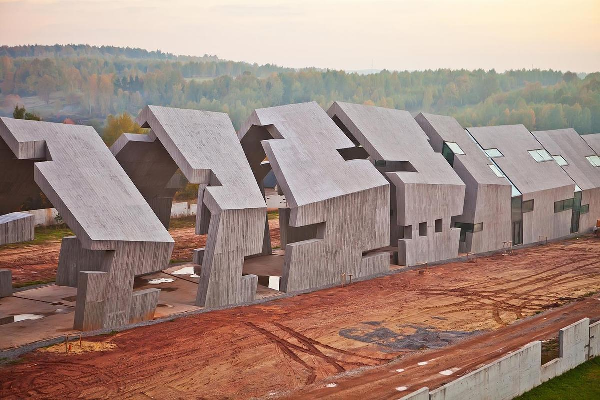 Located in Michniów, southern Poland, the project was first unveiled back in 2009 with a winning competition bid