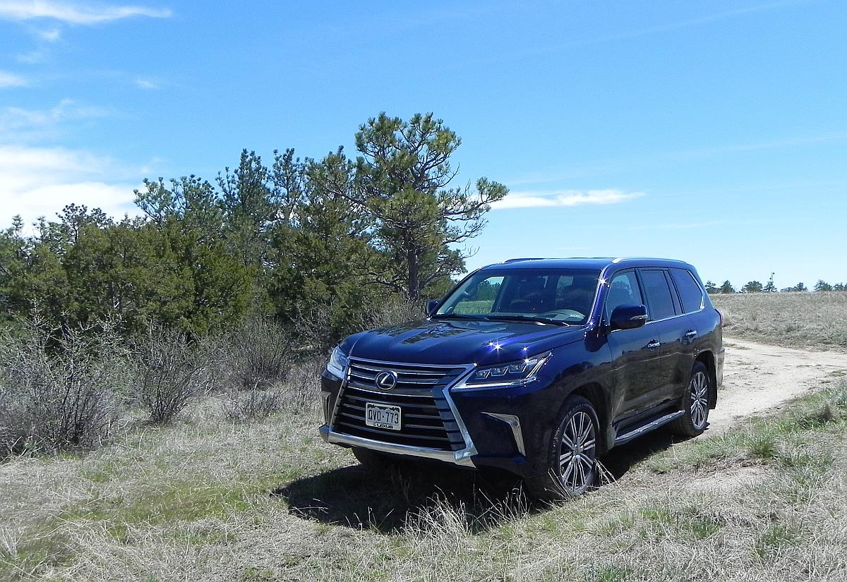 The Toyota Land Cruiser is legendary for its prowess as a sport utility vehicle, and the Lexus LX 570 is the premium brand's take on that SUV