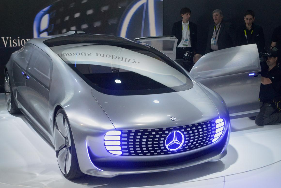 Mercedes F 015 >> Mercedes F 015 Leaps Into The Future Of Autonomous Driving