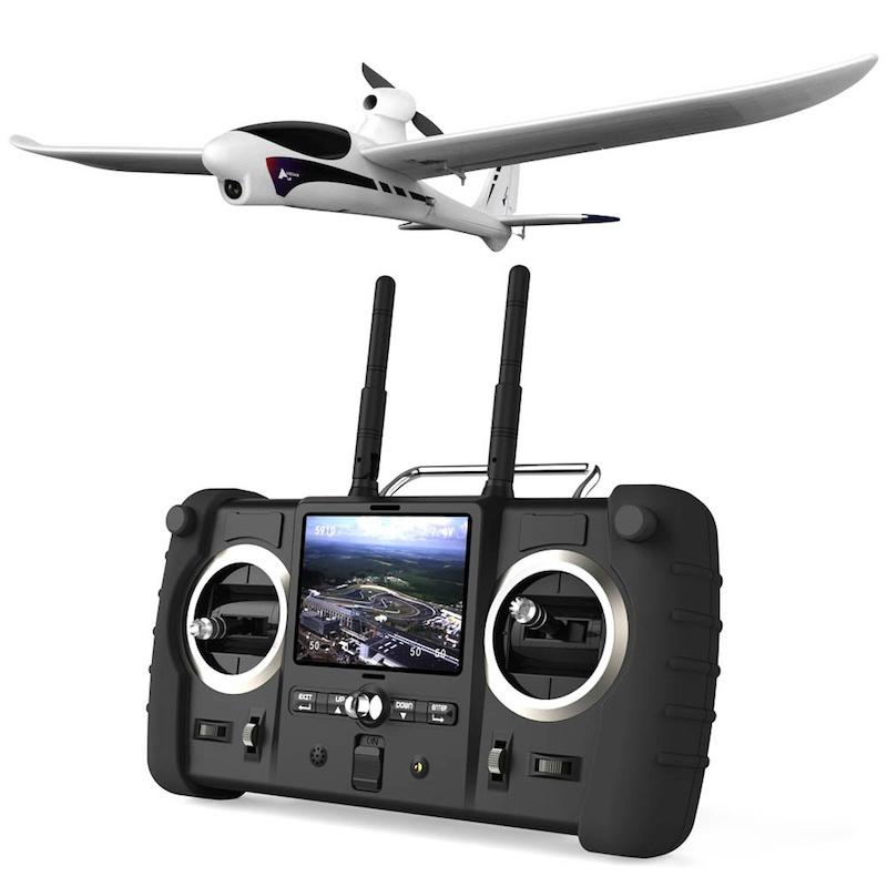 The Spy Hawk has a flying range of 600 meters (roughly 2000 ft) and a video stream range of 400 meters (1,300 ft)