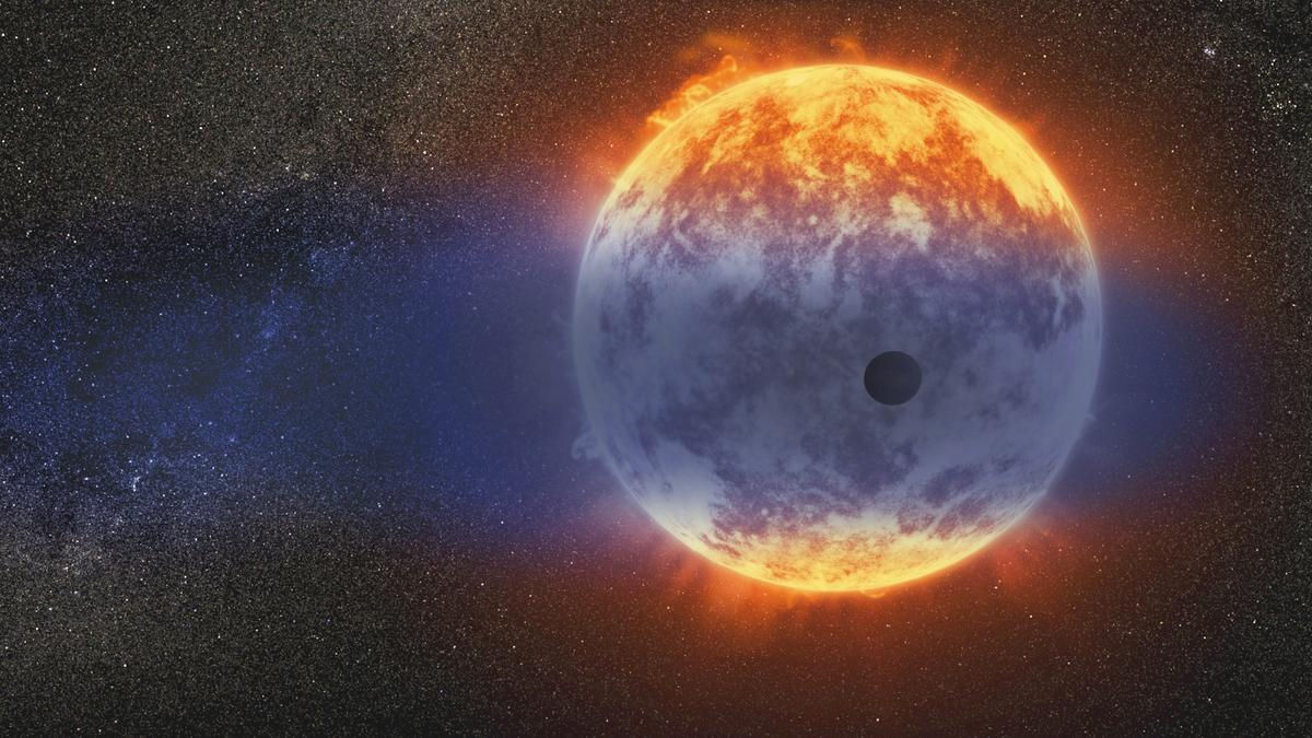 Astronomers have analyzed the atmosphere of the exoplanet GJ 3470 b