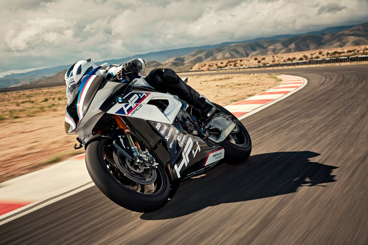 The BMW HP4 Race is ready to hit the track out of the box