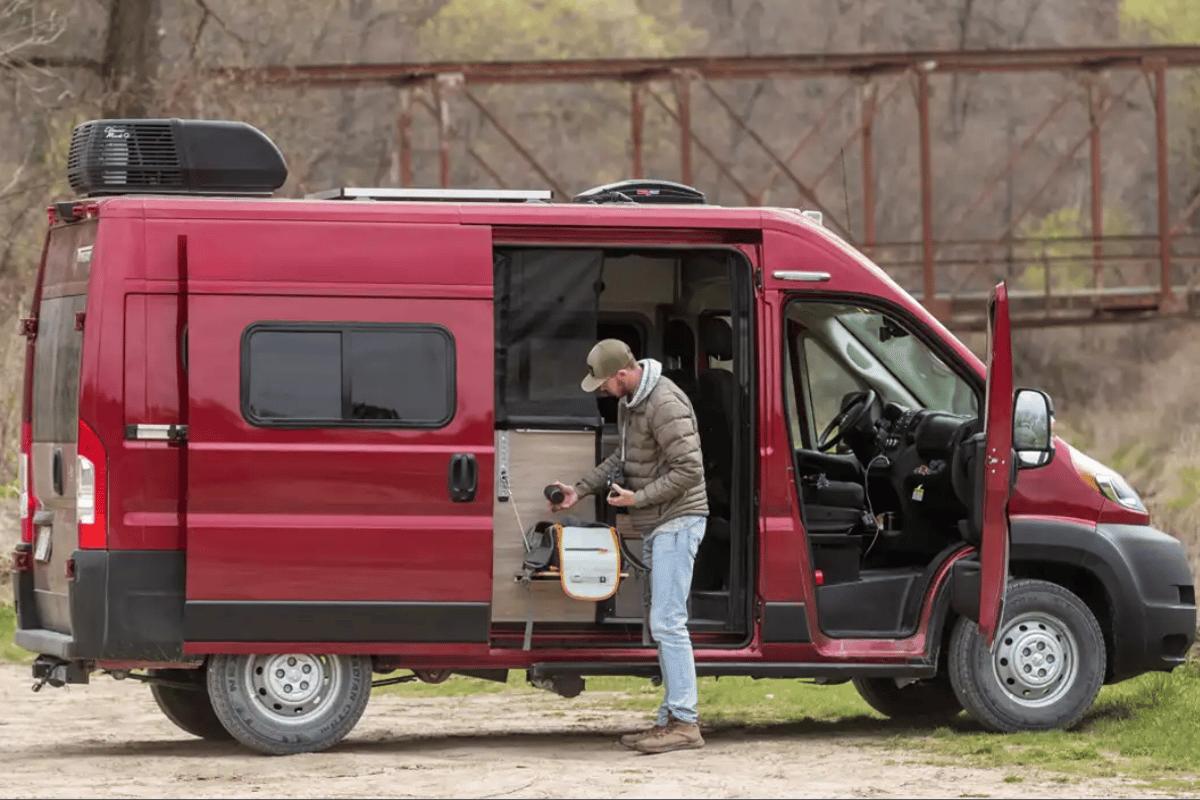 Winnebago's newest van is also its lowest-priced