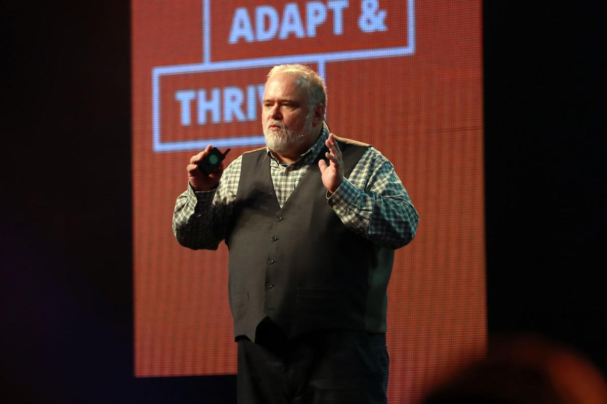 Brad Templeton during his SUNZpresentation on self-driving cars