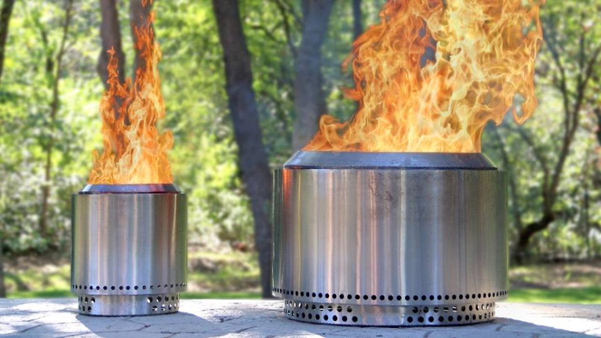 Alongside the Yukon, Solo Stove has also introduced a smaller fire pitcalled the Ranger, seen on the left