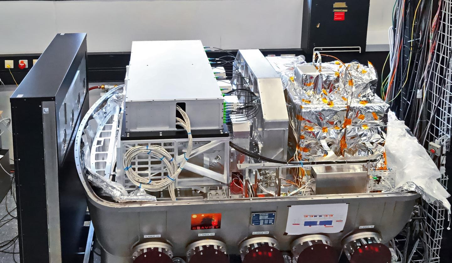 Image of the GRAVITY instrument located at the Paranal Observatory, Chile