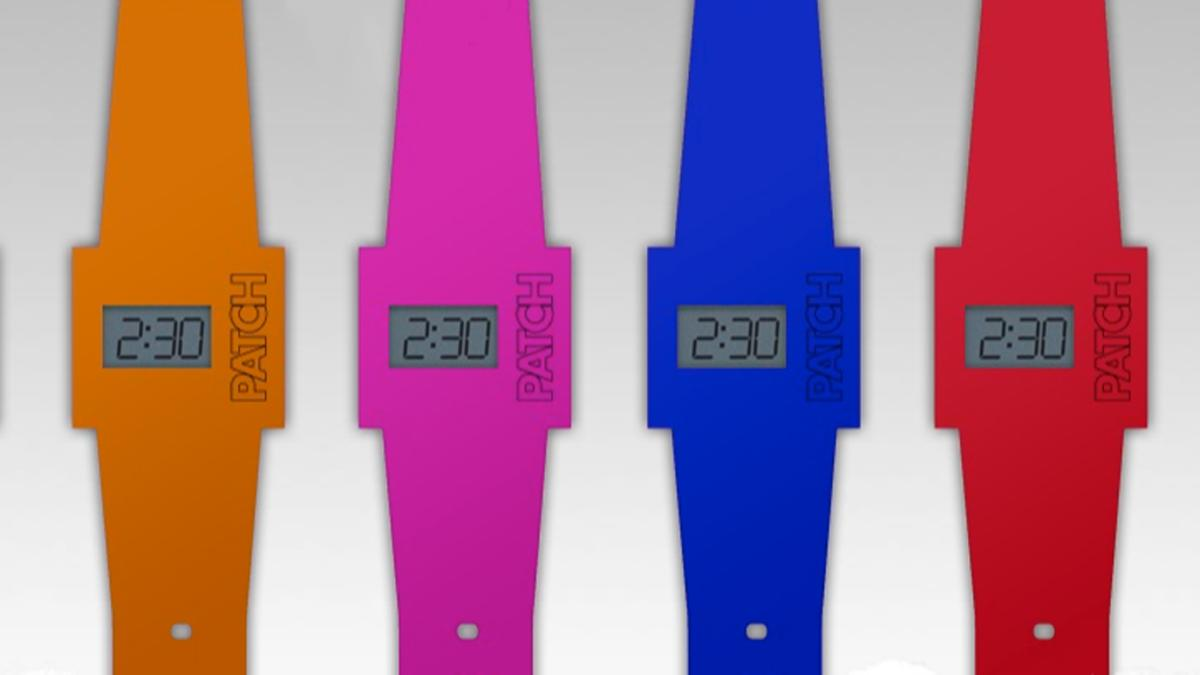 The PATCH paper watch comes in a range of colors