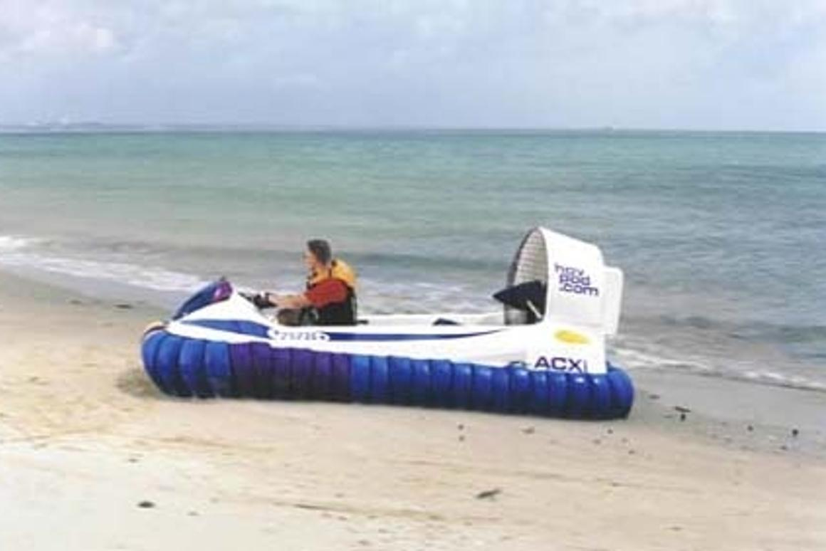 Hov Pod launches a hassle free hovercraft