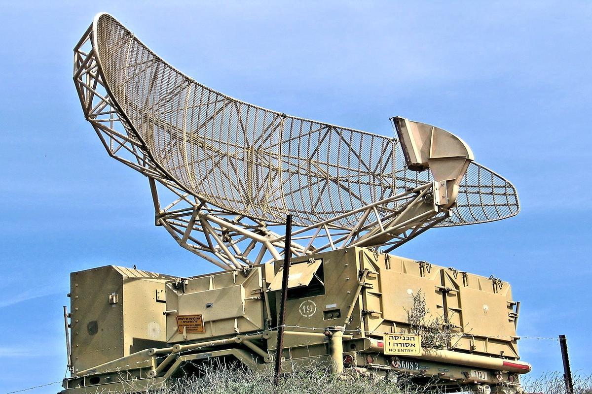 Israeli military radar (Photo: Bukvoed via Wikimedia commons)