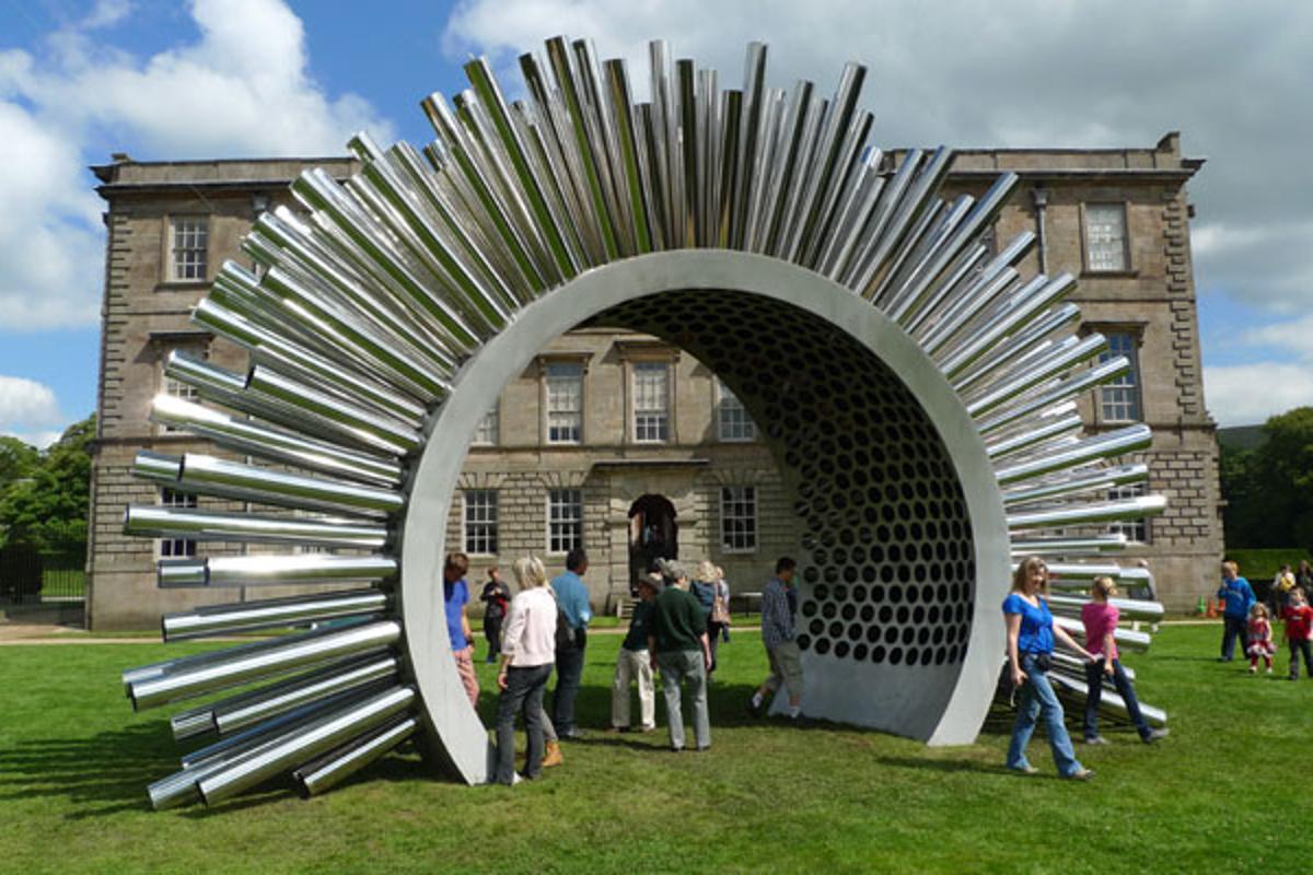 The Aeolus Acoustic Wind Pavilion