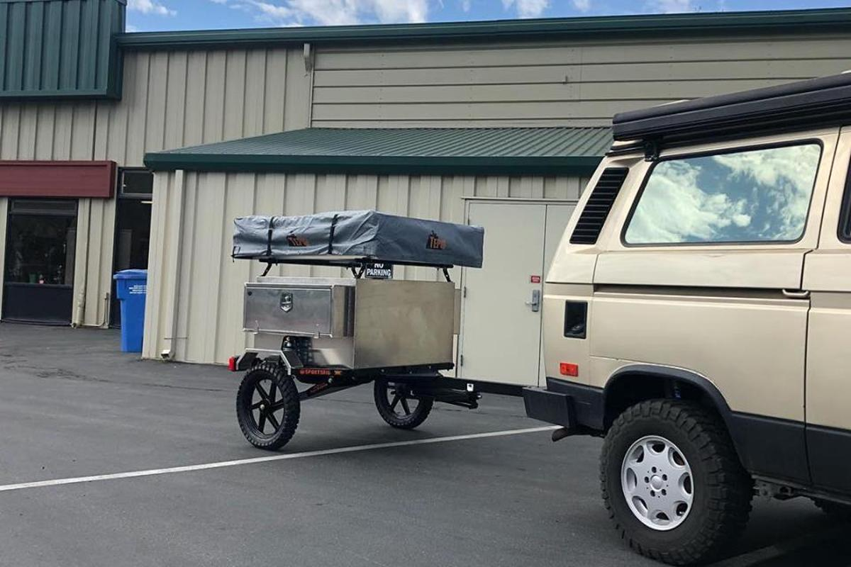 SportsRig TrailStomper trailer