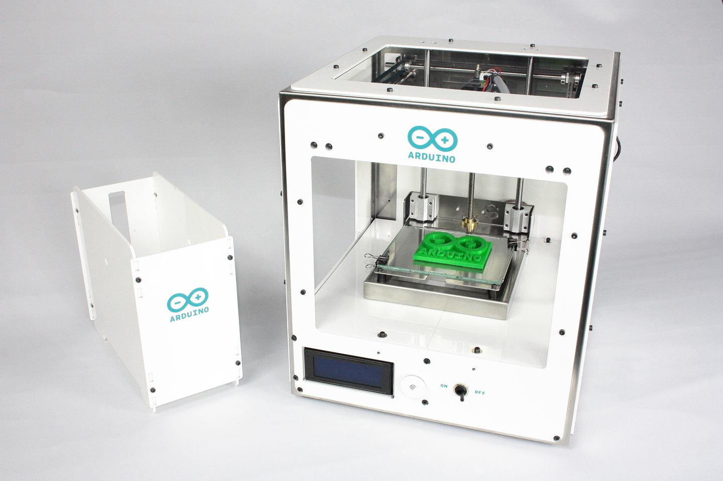 The Arduino/Sharebot Materia 101 3D printer