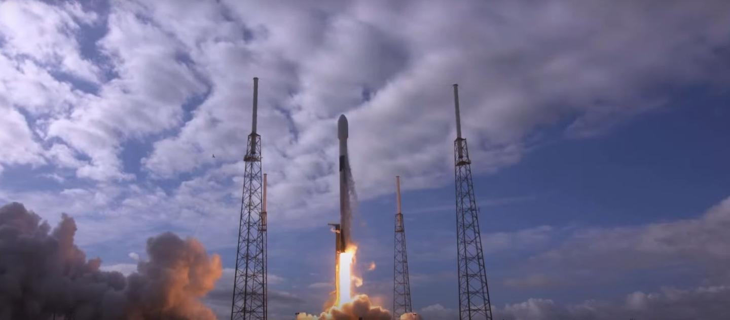 Transporter-1 lifting off from Cape Canaveral Space Force Station