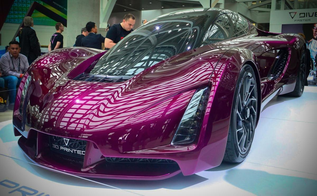 The Divergent 3DBlade at the 2016 LAAuto Show