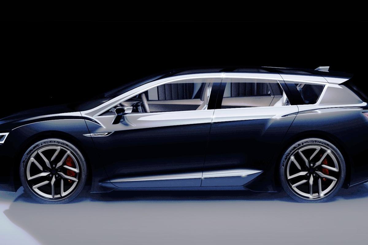 The Subaru Advanced Tourer Concept