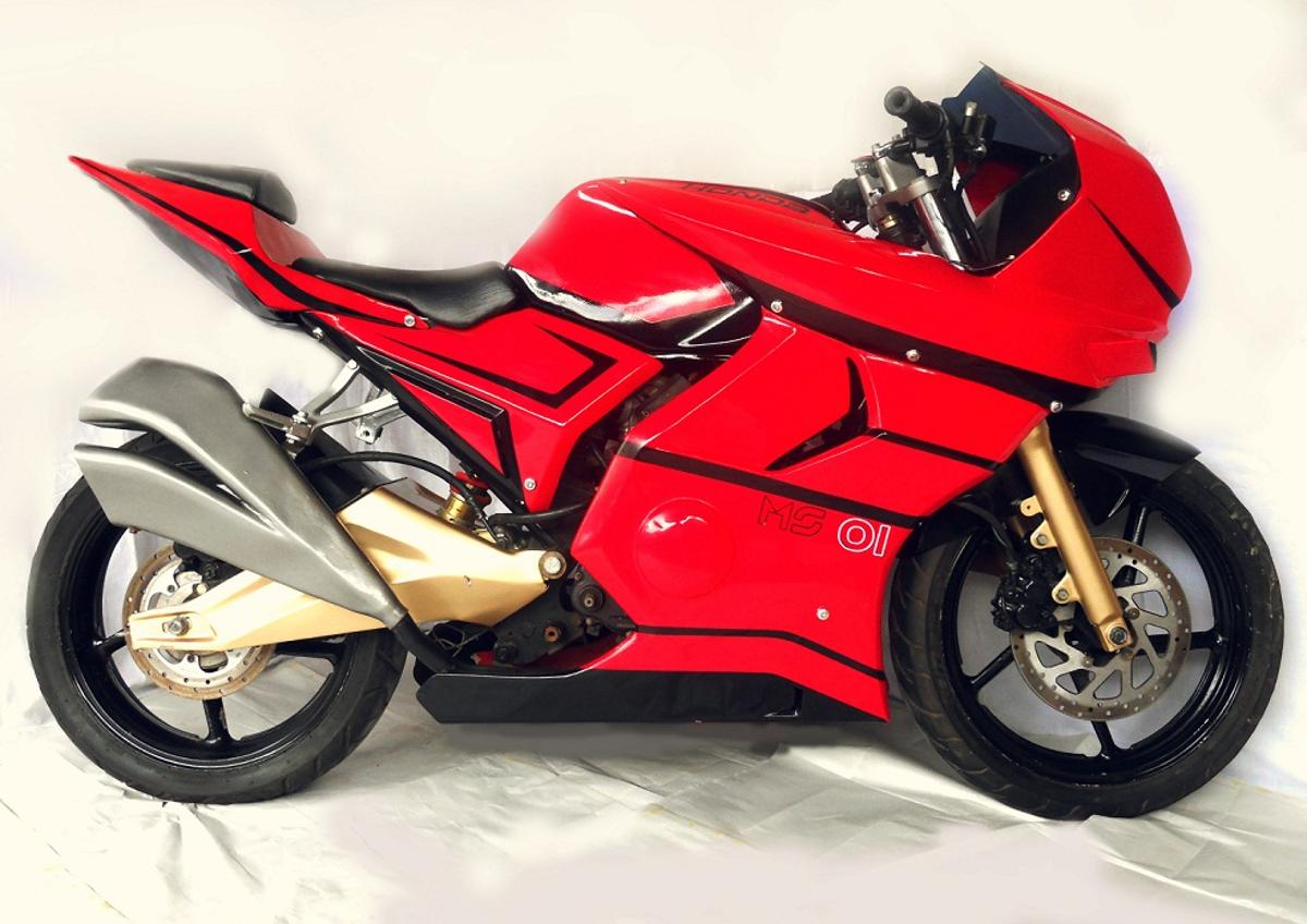 The Maxx Speed 01, a low-cost concept bike modeled on a racing bike platform