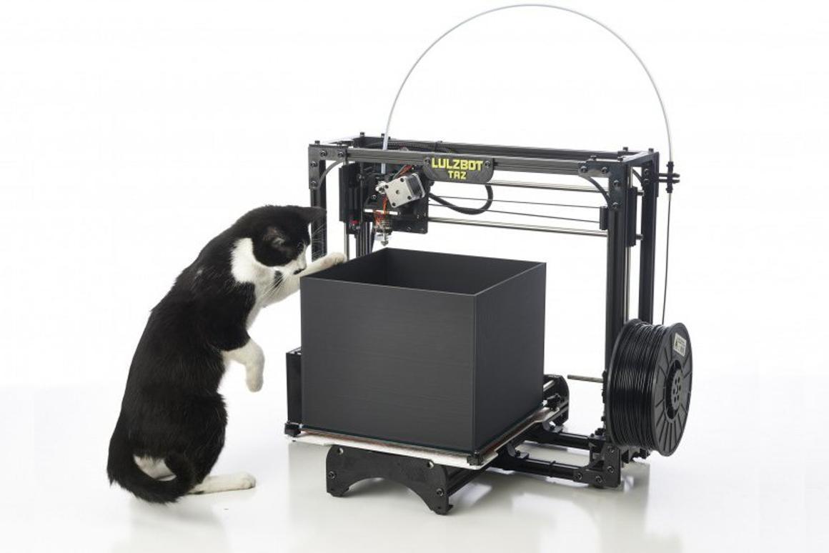 LulzBot TAZ claims largest build area for desktop 3D printers
