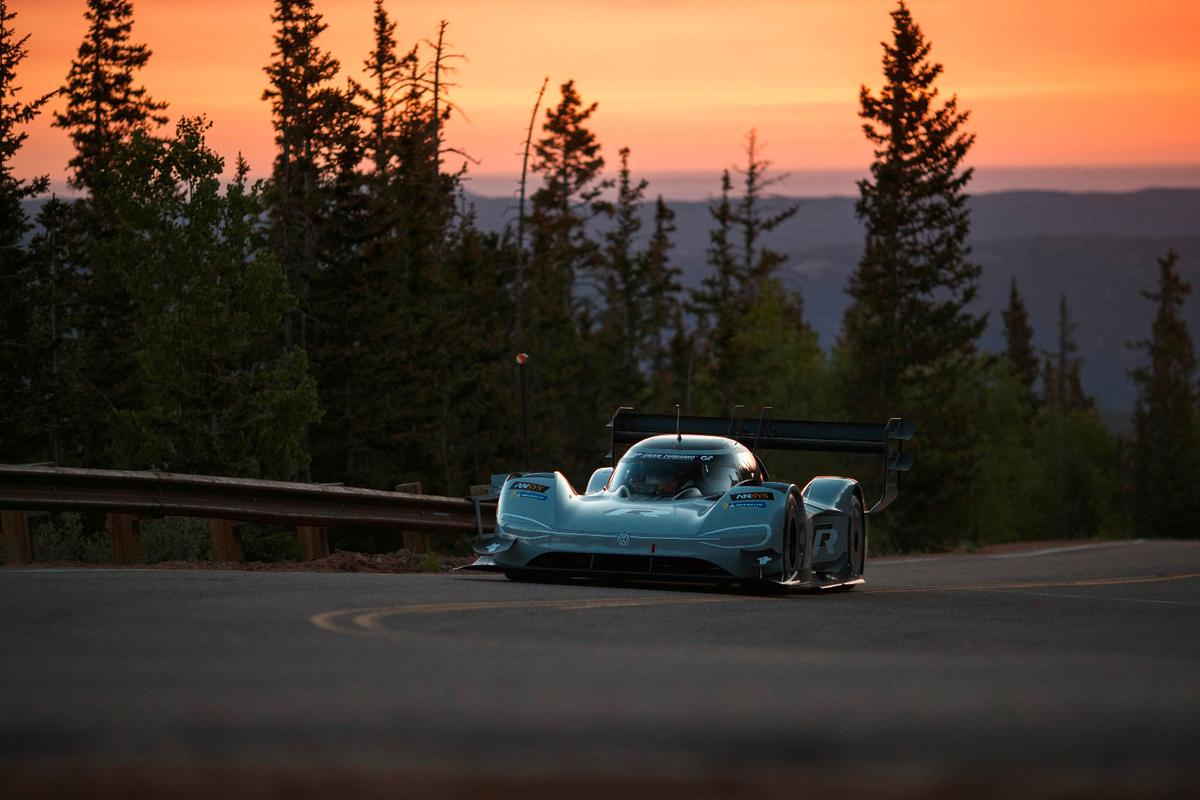 Volkswagen's 680-hp I.D. R Pikes Peak finishes qualifying 11 seconds clear of the field and in an excellent position to break the outright EV course record on Sunday