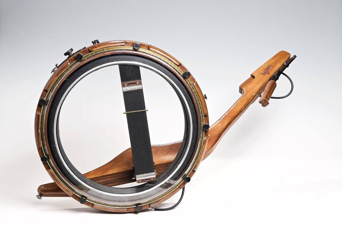 The KeyTam percussion instrument can be played using one or two hands, or with sticks
