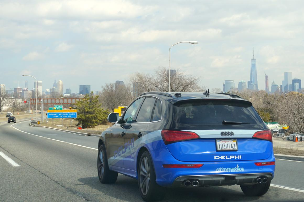 Delphi says that 99 percent of the drive from San Francisco to New York was fully automated