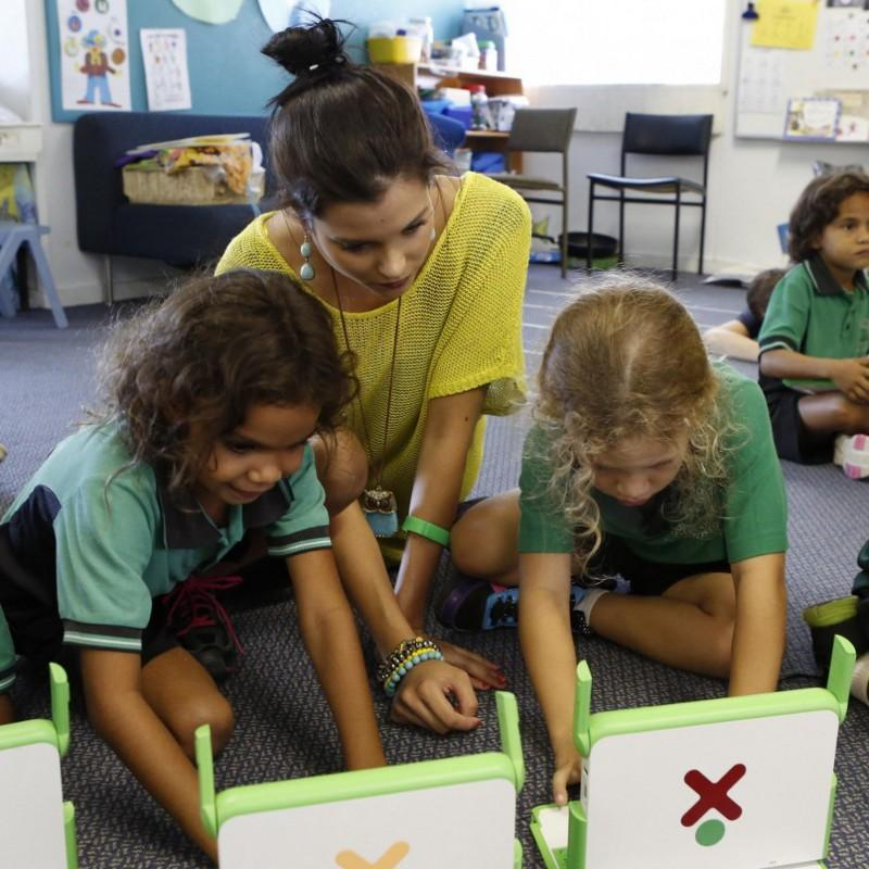 One Education has so far managed to get 50,000 XO models into the hands of disadvantaged children in Australia, while also training some 2,500 teachers on how to use the system