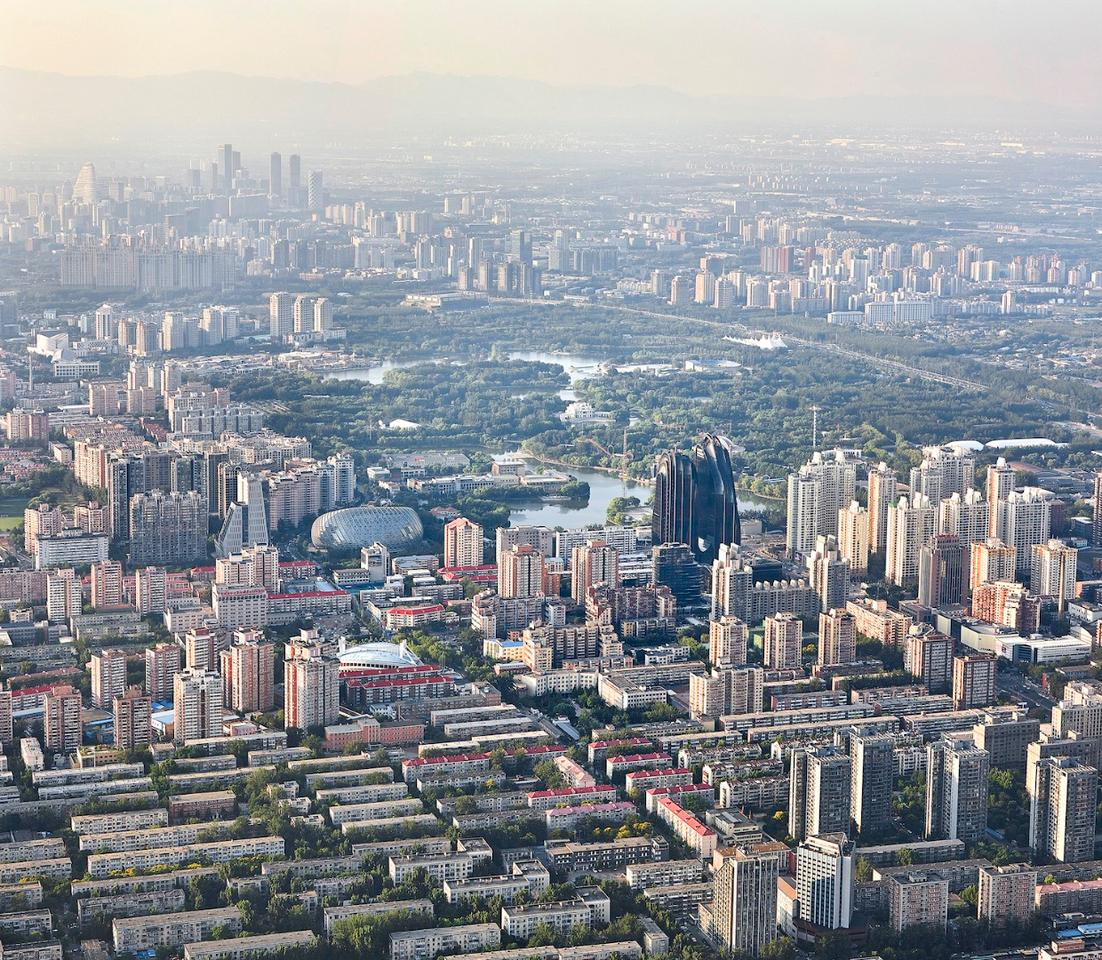 TheChaoyang Park Plaza is located in Beijing's business district