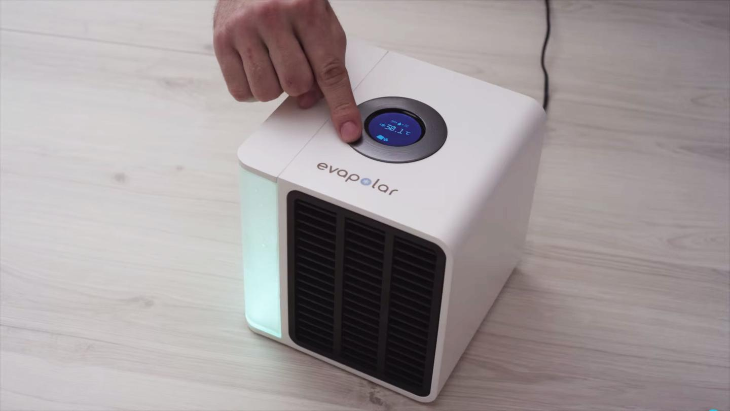 The Evapolar is billed as the world's first portable air conditioner