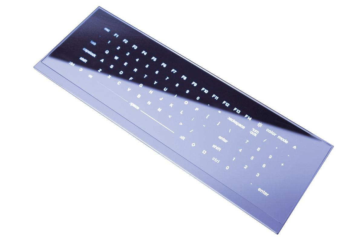 Minebea has announced that the COOL LEAF shiny, flat, touch panel keyboard is set for a May release in Japan