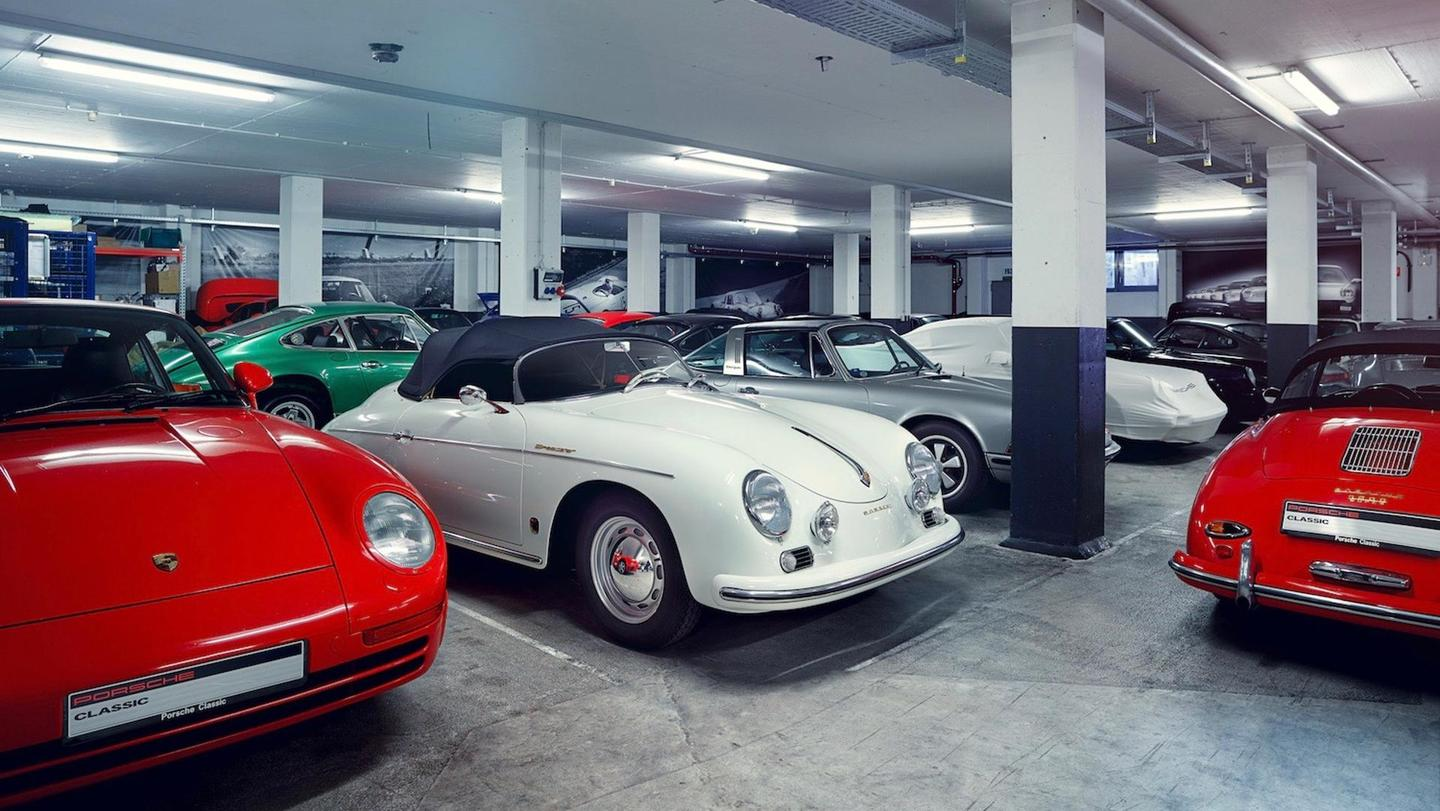 Finding parts for a classic Porsche can be difficult