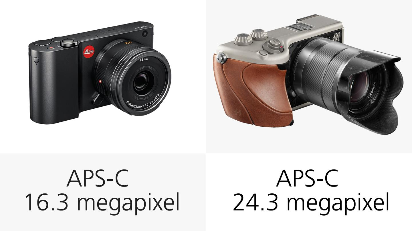 Both the Leica T and Hasselblad Lunar feature large APS-C sensors which mean they should be capable of producing high quality images