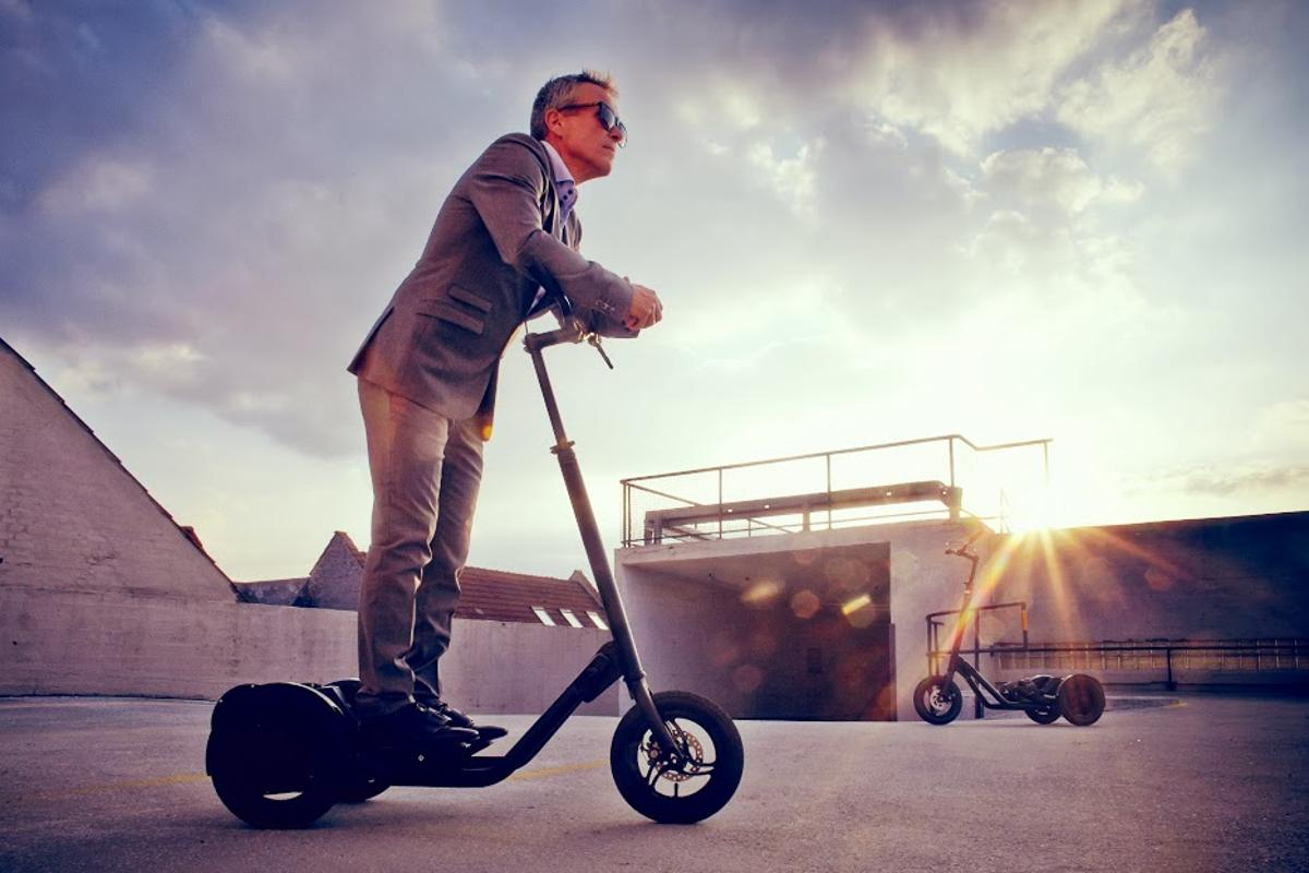 MeMover is a new Danish design for personal mobility