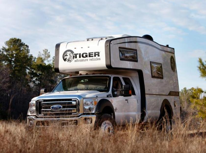 The Siberian Tiger: A camper that snarls on the outside and