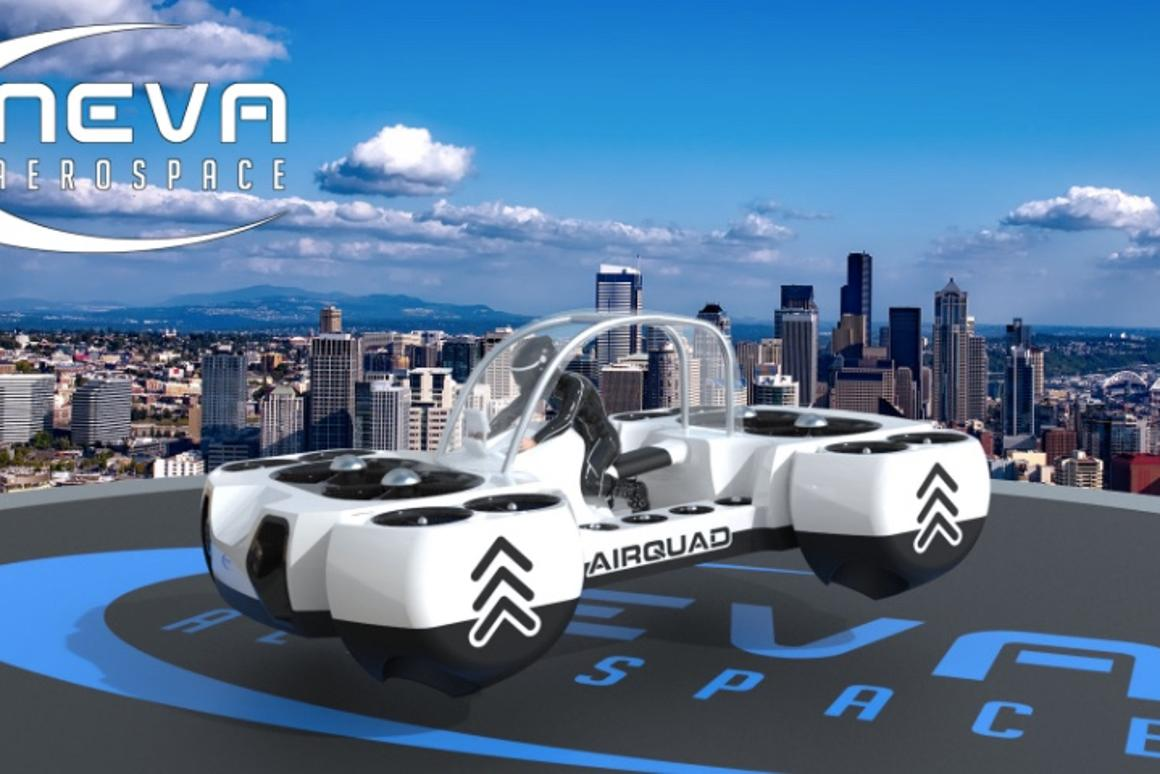Plans call for there to be both manned and unmanned versions of the AirQuadOne