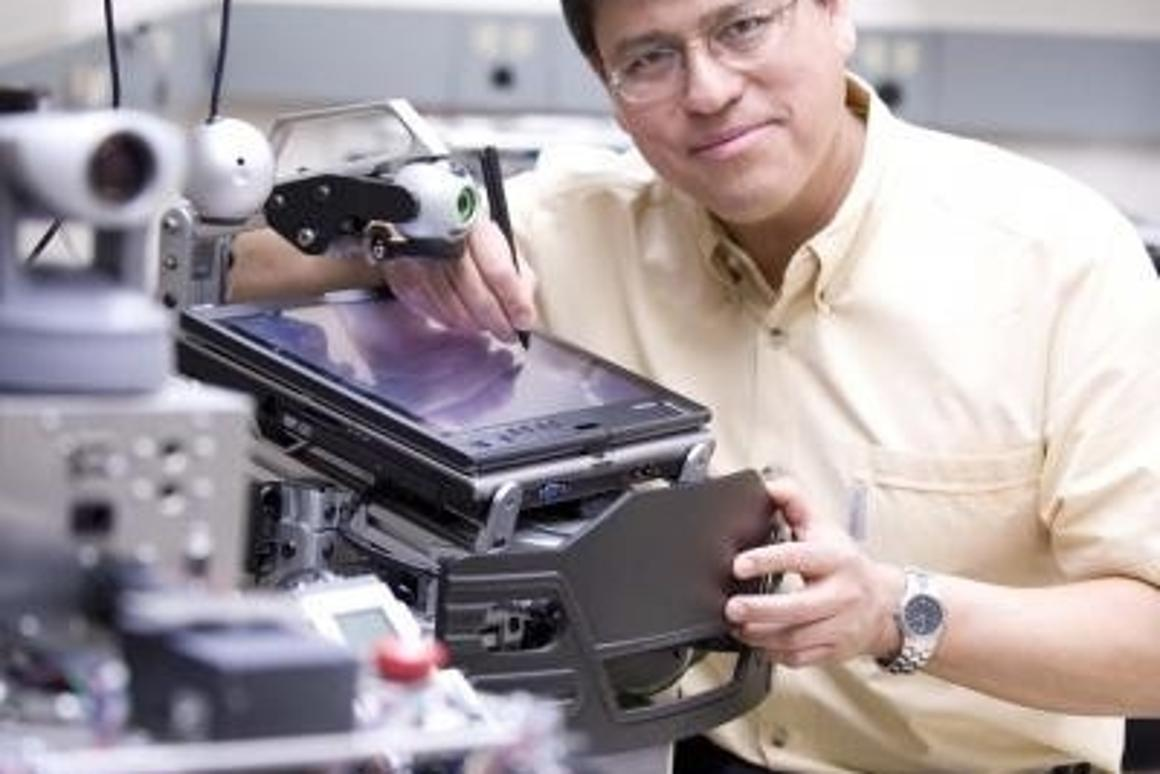 Rafael Fierro is an associate professor of electrical engineering at the University of New Mexico.Via University of New Mexico.