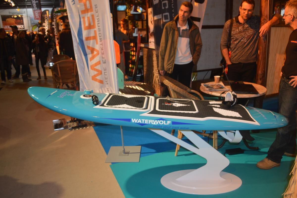 The Waterwolf MXP-3 at the Dusseldorf boat show