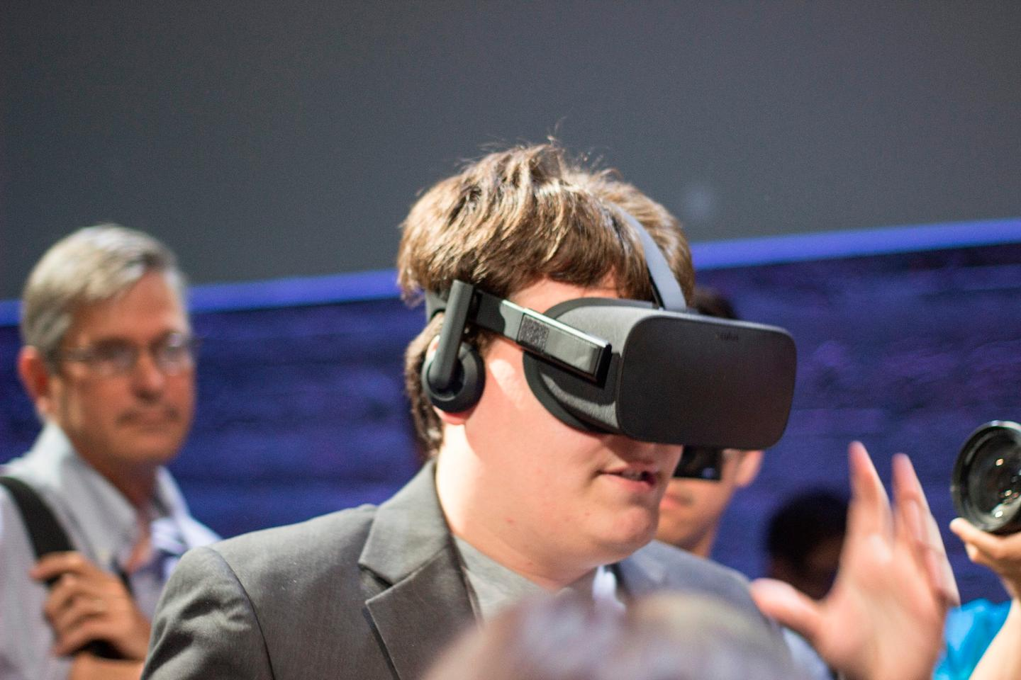 Oculus' Palmer Luckey stepping into the (consumer) Rift