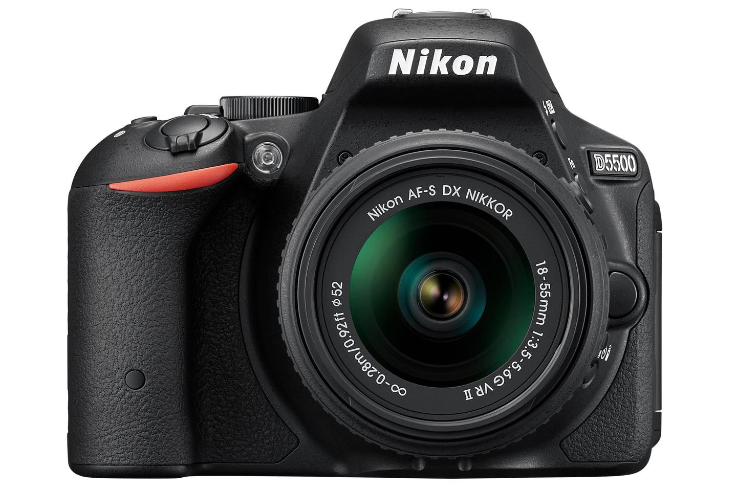 The Nikon D5500 uses built-in Wi-Fi for easy sharing to compatible devices