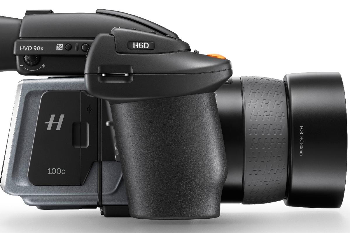 The Hasselblad H6D-100c can shoot 100-megapixel stills and 4K video
