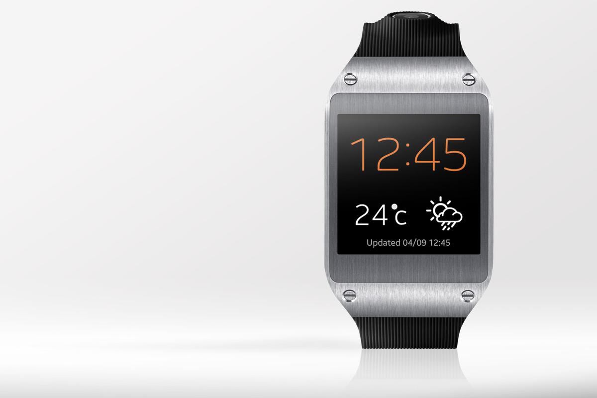 Today Samsung unveiled its Galaxy Gear smartwatch, which brings notifications, tight Galaxy Note 3 integration, and voice control to your wrist