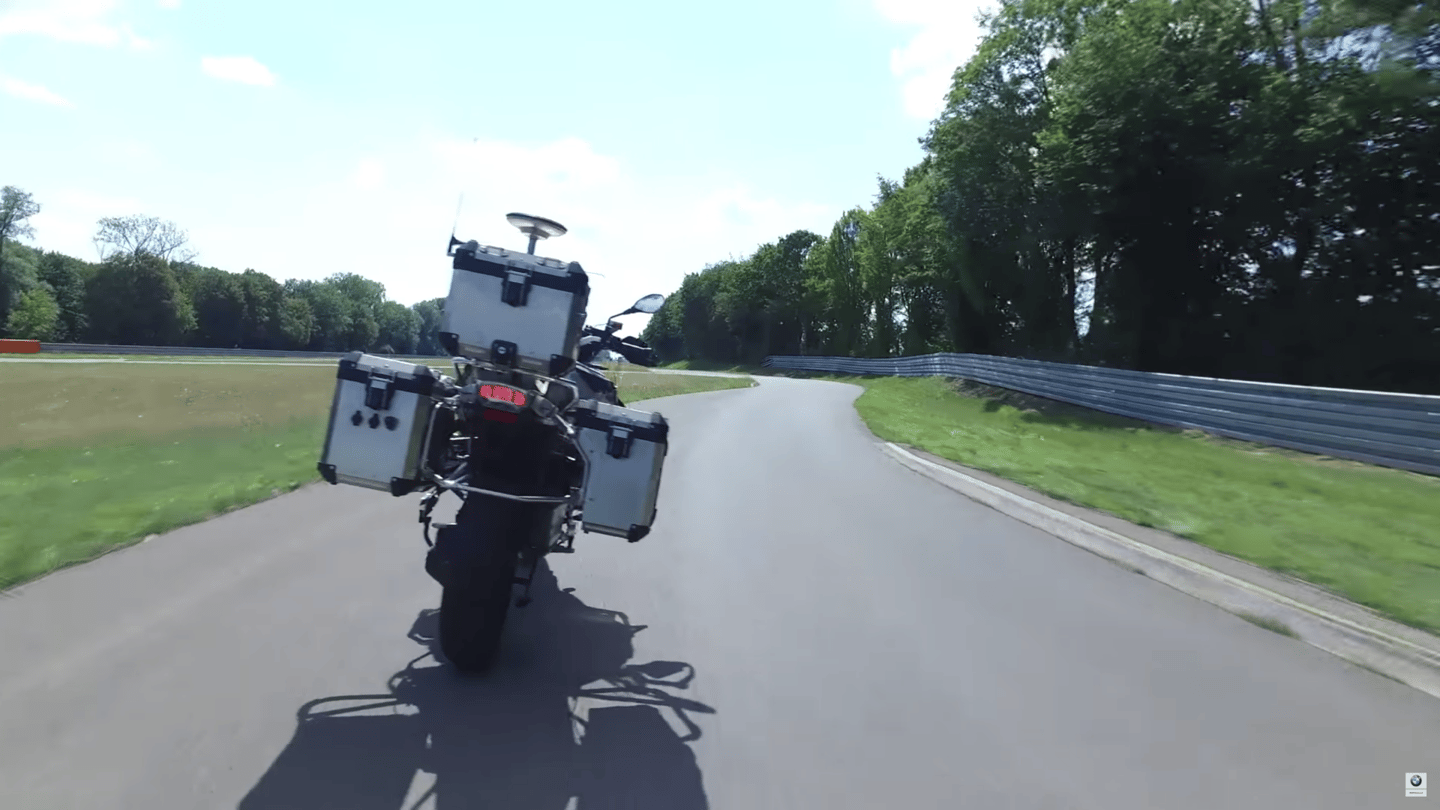 The riderless 1200GS will not lead to a fully self-driving bike, rather it's a test platform designed to help BMW develop safety and comfort systems