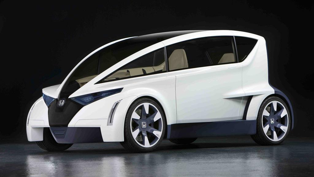 Honda's Personal-Neo Urban Transport ultra-compact vehicle - or P-NUT for short