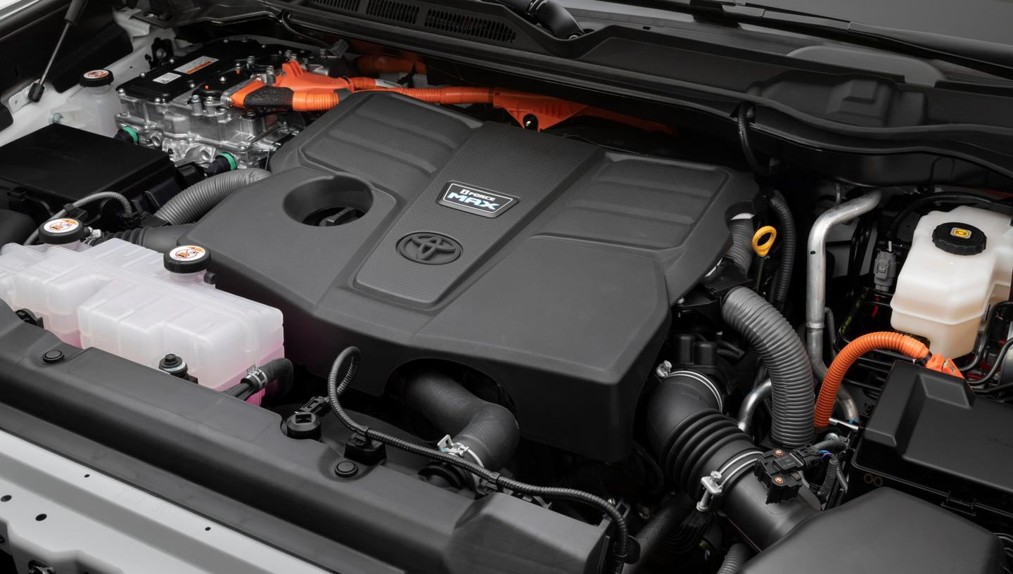 Out with the V8, in with a twin-turbo V6 and i-Force Max hybrid
