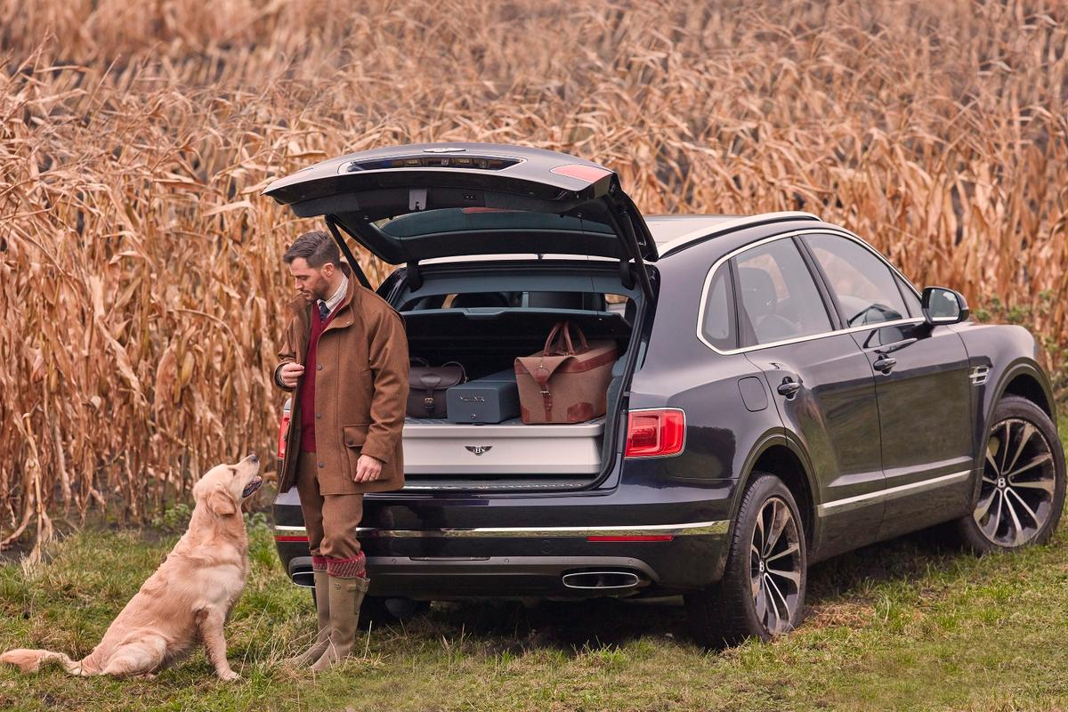 Bentley has teamed up with British shotgun-maker Purdey for Bentayga Field Sports SUV